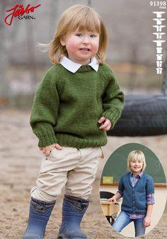Lovely knitted children's basics.