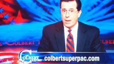 Mr. Colbert Goes to Washington