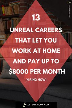 13 Best Work from Home Jobs that Hire Fast & Pay Good - Luster Lexicon - Finance tips, saving money, budgeting planner Ways To Earn Money, Earn Money From Home, Earn Money Online, Way To Make Money, Online Income, Work From Home Companies, Work From Home Opportunities, Legit Work From Home, Work From Home Jobs