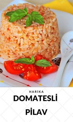 Pilaw mit Tomate leckere Rezepte # 4208286 - One pot rezepte Perfect Rice Recipe, Best Rice Recipe, Rice Recipes, Crockpot Recipes, Seafood Appetizers, Seafood Recipes, Easy Dinner Recipes, Easy Meals, Turkish Recipes