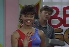 Saved by the bell: Lisa Turtle.