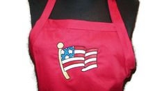 American Flag BBQ Apron Embroidered for Home or by JulsSewCrazy, $19.99  https://www.etsy.com/listing/58747966/american-flag-bbq-apron-embroidered-for?ref=shop_home_active_3