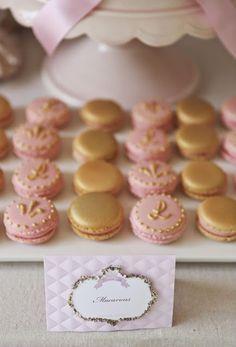 Macarons para un Quinceañero   Candy Bar