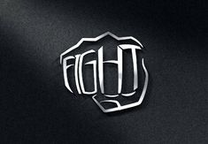 """Fight"" logo for MMA (Mixed Martial Arts by R.I.Z.A.L"