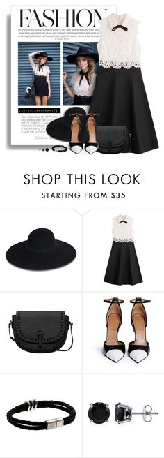 """""""Lovely and cool"""" by fashion-architect-style ❤ liked on Polyvore featuring Maison Michel, Valentino, MANGO, Givenchy and BERRICLE"""