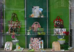 Spring Alfresco and On the Go kitchenware display by Patricia Denis, for London and American Supply Stores, Melbourne