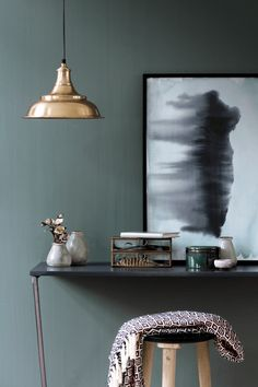 Nouvelle collection d'objets déco chez Broste Copenhagen A/H 2015 - Sivupöytä Pantone Azul, Fall Collection, Broste Copenhagen, Interior Exterior, Scandinavian Interior, Interior Design Inspiration, Interiores Design, Wall Colors, Interior Styling