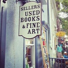 Sellers Used Books & Fine Art, Jim Thorpe, Pennsylvania.