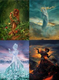 Find images and videos about girls, water and fantasy on We Heart It - the app to get lost in what you love. Fantasy Creatures, Mythical Creatures, Fantasy Kunst, Fantasy Art, Art Sketches, Art Drawings, Elemental Powers, 4 Element, Elements Of Nature