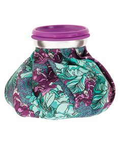 Look at this #zulilyfind! Blue & Purple Floral Ice Pack by Upper Canada Soap #zulilyfinds