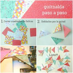 Guirnalda Dreams and Paper: Papeles Pequeños