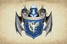 冰与火之歌高达王座家Arryn武器游戏的荣誉大衣