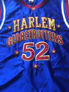 New W/O Tags Harlem Globetrotters Big Easy #52 Jersey Men's Large #HarlemGlobetrotters