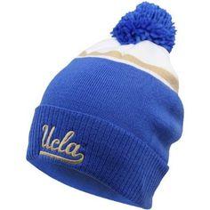 online store fba30 62f2b Amazon.com   NCAA UCLA Bruins Men s Fan Gear Cuffed Knit Hat with Pom,  White Sandstorm, One Size   Sports Fan Beanies   Sports   Outdoors