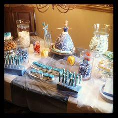 Audrey's Cinderella princess birthday party.