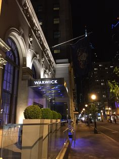 Warwick Rittenhouse hotel Philadelphia