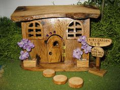 Fairy Garden Cottage Bed and Breakfast Cottage by PixiesPatch