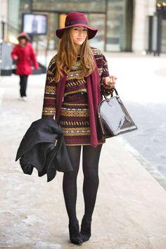Tamara Kalinic  Skirt and Top: Zara   Boots: Christian Louboutin   Bag: Louis Vuitton   Necklace: Topshop   Jewelry: Topshop   Scarf: H
