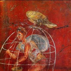 Detail of a fresco from Pompei