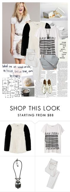 """""""I thought I was in love but then he said he didn't like Harry Potter."""" by hug-voldemort ❤ liked on Polyvore featuring Miu Miu, Lanvin, Zara, Craftsman, McQ by Alexander McQueen, Alexander Wang, bib necklaces, skinny jeans, top handle bags and oxford shoes"""