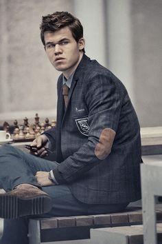Norwegian Chess Prodigy Magnus Carlsen