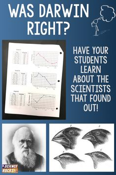 Great graphing activity testing Darwin's theory of natural selection and evolution! From Science Rocks