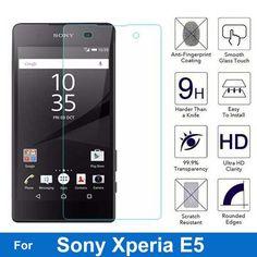 E5 E 5 Screen Protector 9H Anti-Explosion Tempered Glass For Sony Xperia E5 F3311 F3313 LTE Protective Film pelicula de vidro