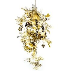 Tangled Garland Light. This garland lamp shade by esteemed designer Tord Boontje is a continuous strand of metal wrapped around a light bulb.  $107.00