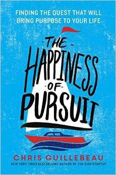A remarkable book that will both guide and inspire, The Happiness of Pursuit reveals how anyone can bring meaning into their life by undertaking a quest.#thehappinessofpursuit #followyourdream #lifepurpose