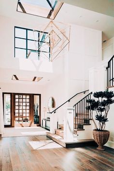 Dream Home Design, My Dream Home, Simple Home Design, Dream House Plans, Dream Life, Br House, House And Home, Farmhouse Architecture, Stairs Architecture
