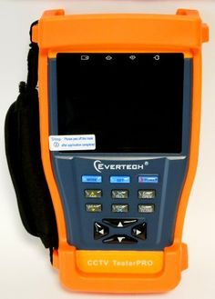 """Evertech CCTV Multi-function Tester PRO - 3.5"""" LCD Monitor Cctv Tester Video / PTZ Tester / Security Surveillance Camera / Cctv Monitor Test Tester/ Lan UTP Cable Tester by Evertech. $169.99. TFT-LCD Monitor / PTZ Controller / Video signal generator / UTP cable tester  The Cctv Tester PRO is developed for the installation and maintenance of video monitoring system. It can be used for displaying video, controlling PTZ, generating images, capturing data of RS485 ..."""