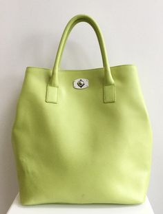 Furla leather tote bag in Jade - green Jade Green, Furla, Madewell, Tote Bag, Hats, Leather, Accessories, Collection, Fashion