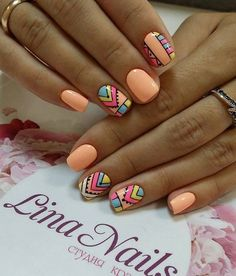 Gel Nail Designs You Should Try Out – Your Beautiful Nails Shellac Nails, Nail Manicure, Diy Nails, Cute Nails, Pretty Nails, Gel Nagel Design, Luxury Nails, Summer Acrylic Nails, Dream Nails
