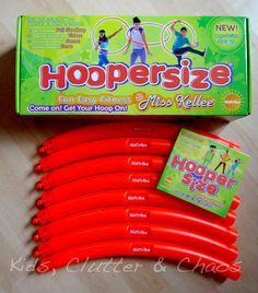 Hoopersize - exercise with the hula hoop! (giveaway too)