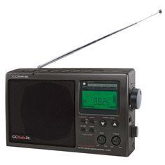 Waterproof Shower Radio Digital AM FM 7 NOAA Weather Alert Siren Boating Beach