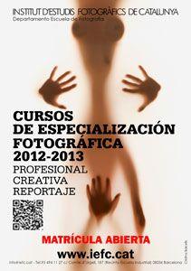 Cursos de Especialización de Fotografía  Instituto de estudio Fotográficos de Cataluña