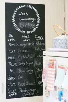 Meal-Planning-Blackboard
