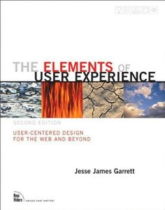 The Elements of User Experience: User-Centered Design for the Web and Beyond (2nd Edition) (Voices That Matter) by Jesse James Garrett, http://www.amazon.com/dp/0321683684/ref=cm_sw_r_pi_dp_T8R0tb0G6Q1C3