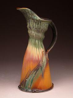 Steven Hill #pottery #pitcher #323CLAY Steven Hill, Ceramic Pitcher, Pottery Studio, Ceramic Pottery, Tea Pots, Workshop, Porcelain, Clay, Sculpture