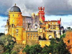 Conheça o fabuloso Palácio da Pena, em Sintra!
