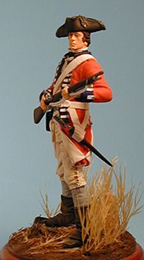 This is what loyalist looked like in the Revolutinary War. The were nickednamed Redcoats. :D