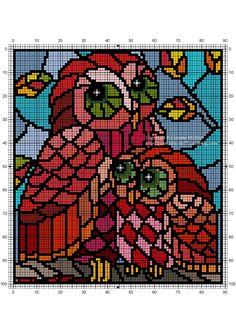 Disney Cross Stitch Patterns, Counted Cross Stitch Patterns, Cross Stitch Charts, Cross Stitch Designs, Cross Stitch Embroidery, Cross Stitch Cushion, Cross Stitch Owl, Cross Stitch Animals, Diy Friendship Bracelets Patterns