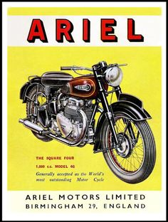 BSH BLOG: AN A-Z OF MOTORCYCLING ADVERTISING: ARIEL