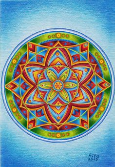 Mandala by RitosPiesiniai on deviantART