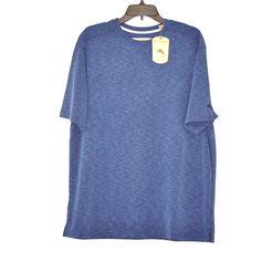NWT Tommy Bahama Men XL Paradise Around T-Shirt Blue Bright Cobalt SS $78 #TommyBahama #BasicTee