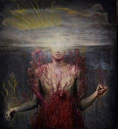 Agostino Arrivabene's Delicately Disturbing Paintings Invite You Into The Darkness Of Another World