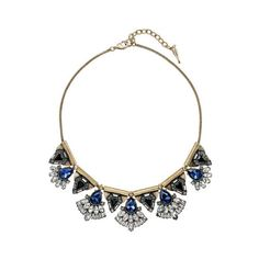 Monarch Statement Necklace | Chloe + Isabel ($118) ❤ liked on Polyvore featuring jewelry, necklaces, statement necklace, bib statement necklace and chloe isabel jewelry