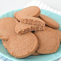 Speculaas shortbread koekjes