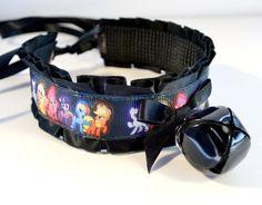 Black My Little Pony Kitten Collar with Neko Bell http://www.etsy.com/shop/KittenSightings