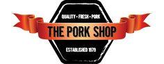 The Pork Shop Logo. Quality fresh pork established in 1979